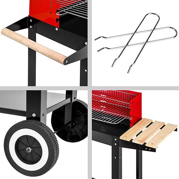 Grill-BBQ-a-carbonella-con-carrello-TecTake-3